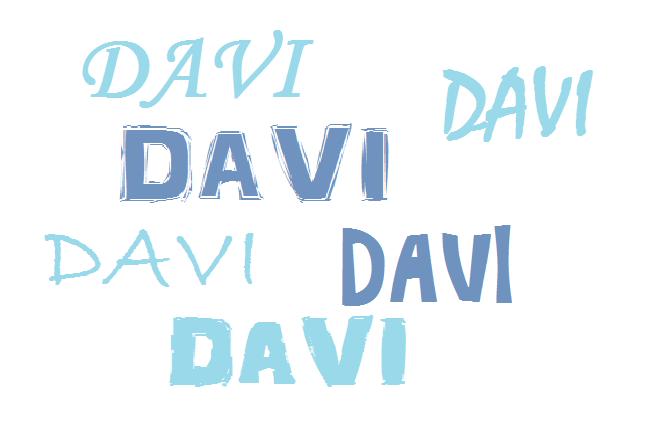 Amado davi, ganhou um espaço todo seu neste blog, e em breve vamos