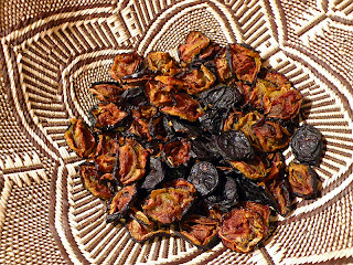 Basket of Freshly Made Prunes