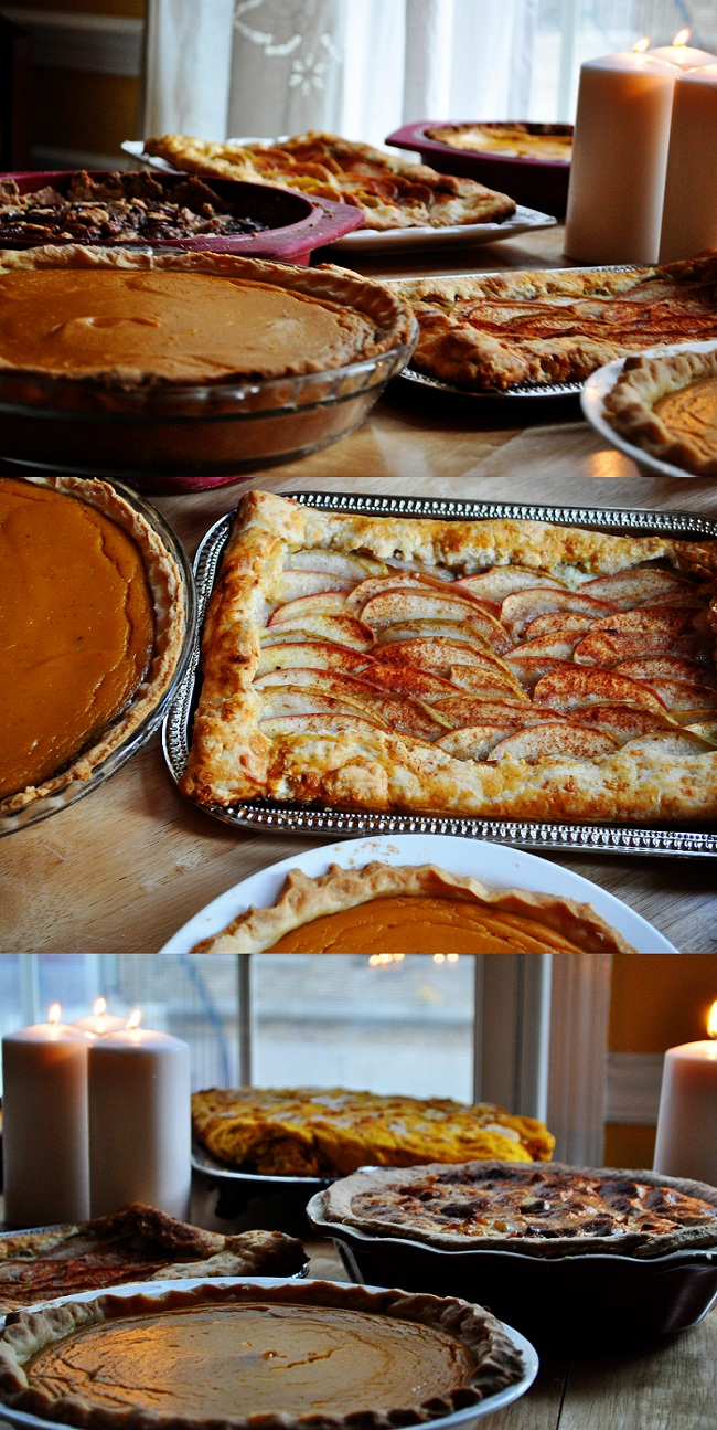 ... Pumpkin Tart : Apple Cheddar Galette : Apple Praline Pie : Pumpkin Pie