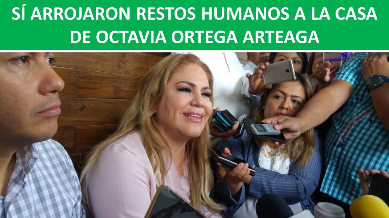 UNA MANO HUMANA A LA CASA DE OCTAVIA ORTEGA ARTEAGA
