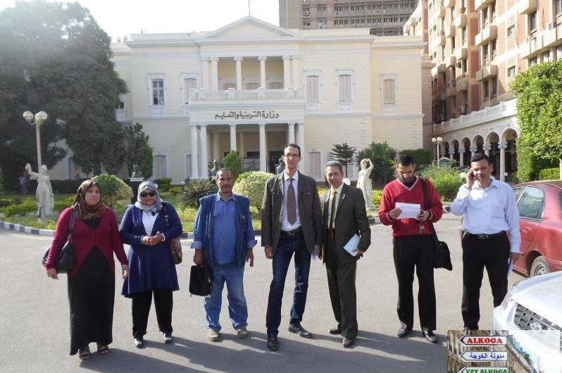دكتور محمود ابو النصر , وزير التربية والتعليم,الوزير الناجح ,وزير التصحيح,الخوجة,طارق ضوة
