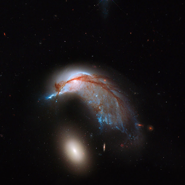 Interacting Galaxies Arp 142