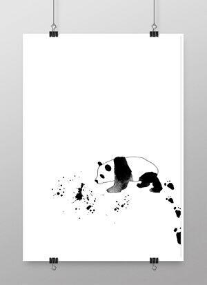 panda, pandor, barntavla, barntavlor, poster, posters, konsttryck, print, prints, plakater, webbutik, webshop, webbutiker, svart och vitt, svartvita tavlor, tavla, svartvit, vit, vtia, till barnrummet, på väggen, dekoration, dekorationer, inredning, nettbutikk, nettbutikker, interior, annelies design, annelie palmqvist, frenchie, vykort, bulldog, fransk bulldig, french bulldog, dog, hund, hundar,