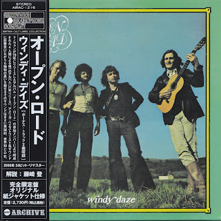 OPEN ROAD - WINDY DAZE (GREENWICH GRAMOPHONE 1970) Jap mastering cardboard sleeve + 2 bonus