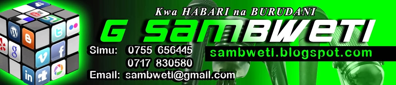G SAMBWETI official blog