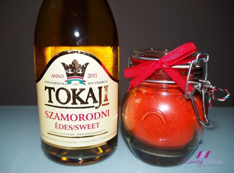 hungary famous dessert wine tokaji aszu hungarian paprika