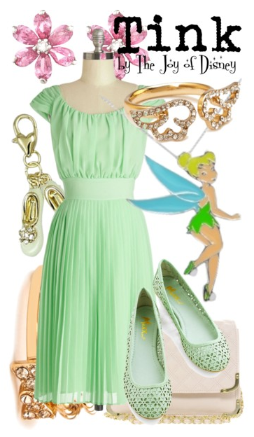 Tinkerbell, Tinkerbell Cosplay, Tinkerbell Outfit, Disney Fashion