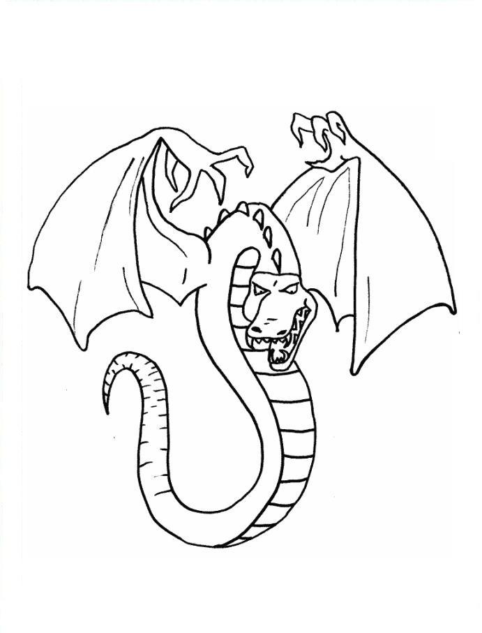 Desenho como desenhar Esses Dragon perigosos pintar e colorir