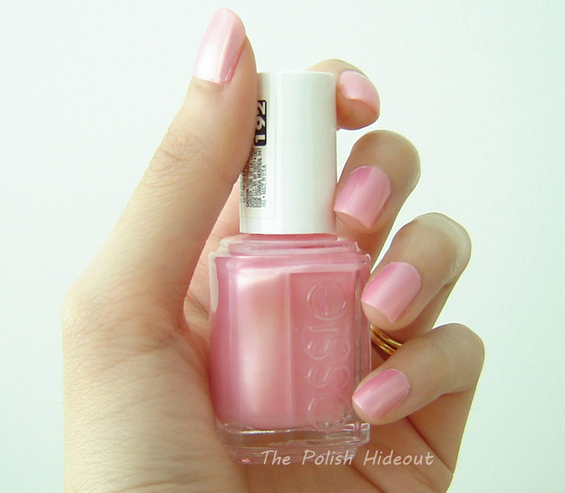 The Polish Hideout: Essie Pink Diamond