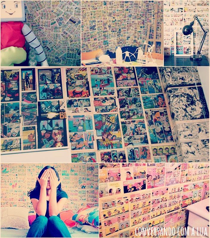 Coisas de meninas (Re)Decorando seu quarto Paredes