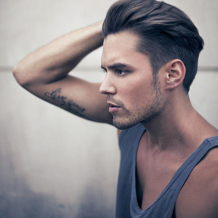 Coupe de cheveux homme sans barbe
