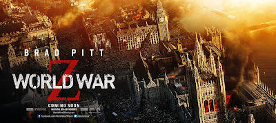 World War Z Banner Poster London