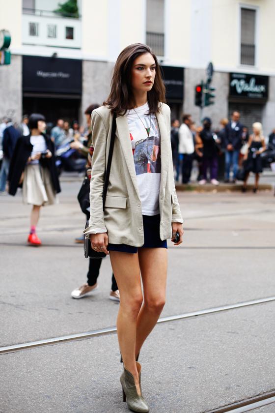 MFW SS13 Street Style Jacquelyn Jablonski