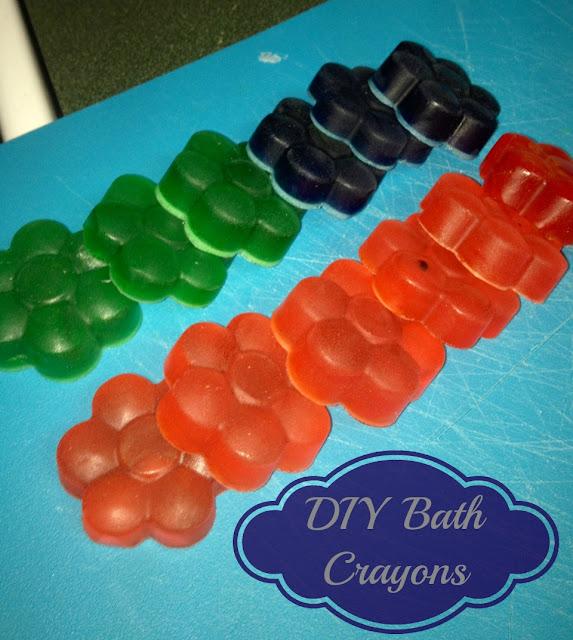 DIY Bath Crayons