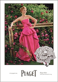 PIAGET Rose Collection Ad Campaign