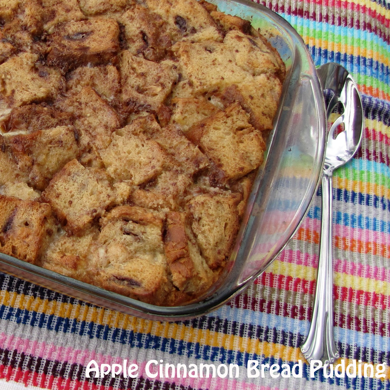 Rumbly in my Tumbly: Apple Cinnamon Bread Pudding
