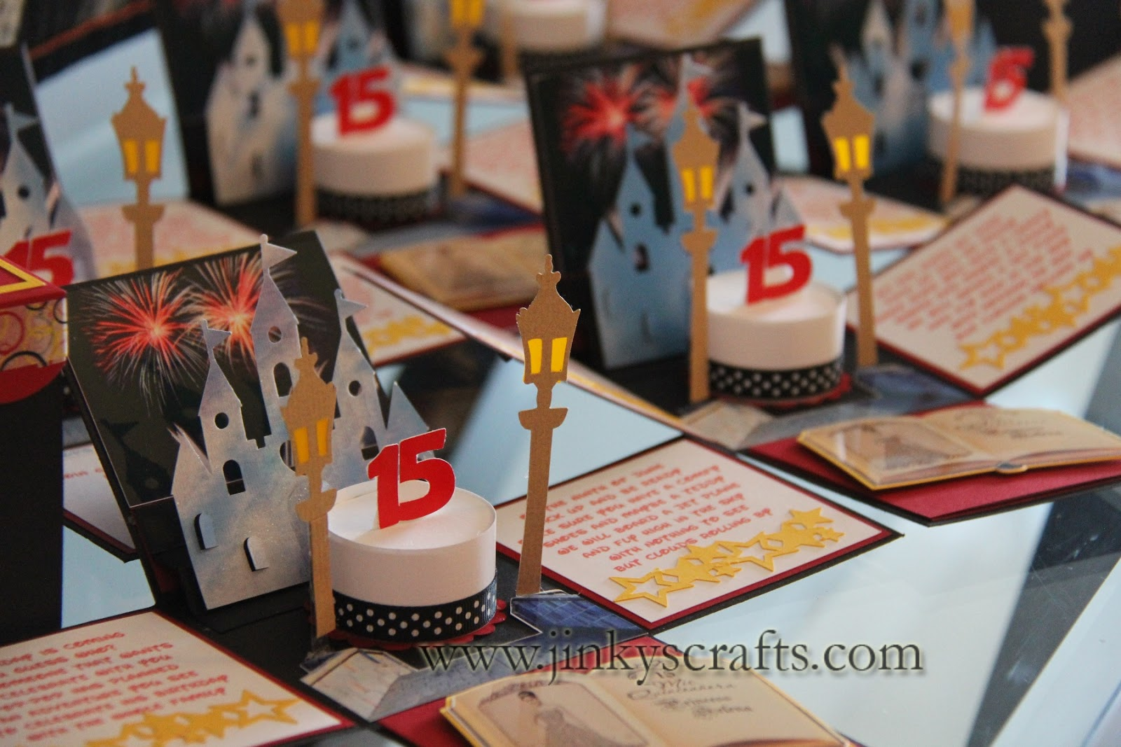 Jinkys Crafts Designs Disney Inspired Creative Invitations