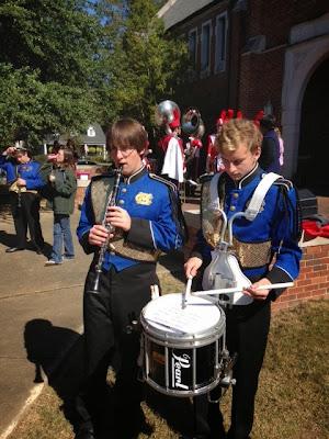 Marching Knights Chosen for Huntingdon Honor Band 1