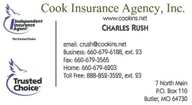 COOK INSURANCE AGENCY INC.