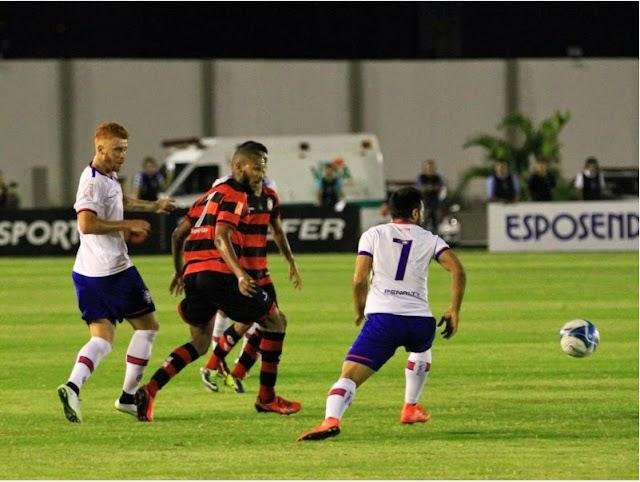 Em jogo caótico, Bahia apenas empata pelo Nordestão