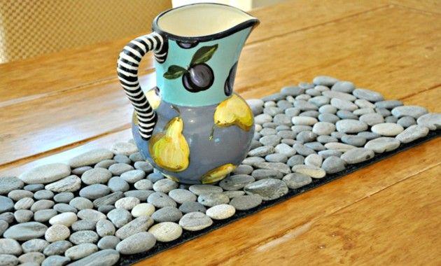 Cultura infantil sendero de piedras para decorar tu casa - Piedra para decorar ...