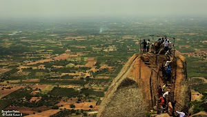 Shivagange, Nandi on the peak
