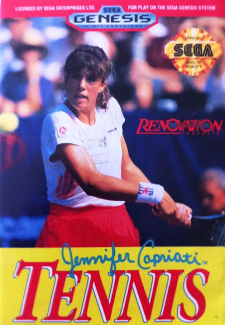 Jennifer Capriati Tennis Megadrive