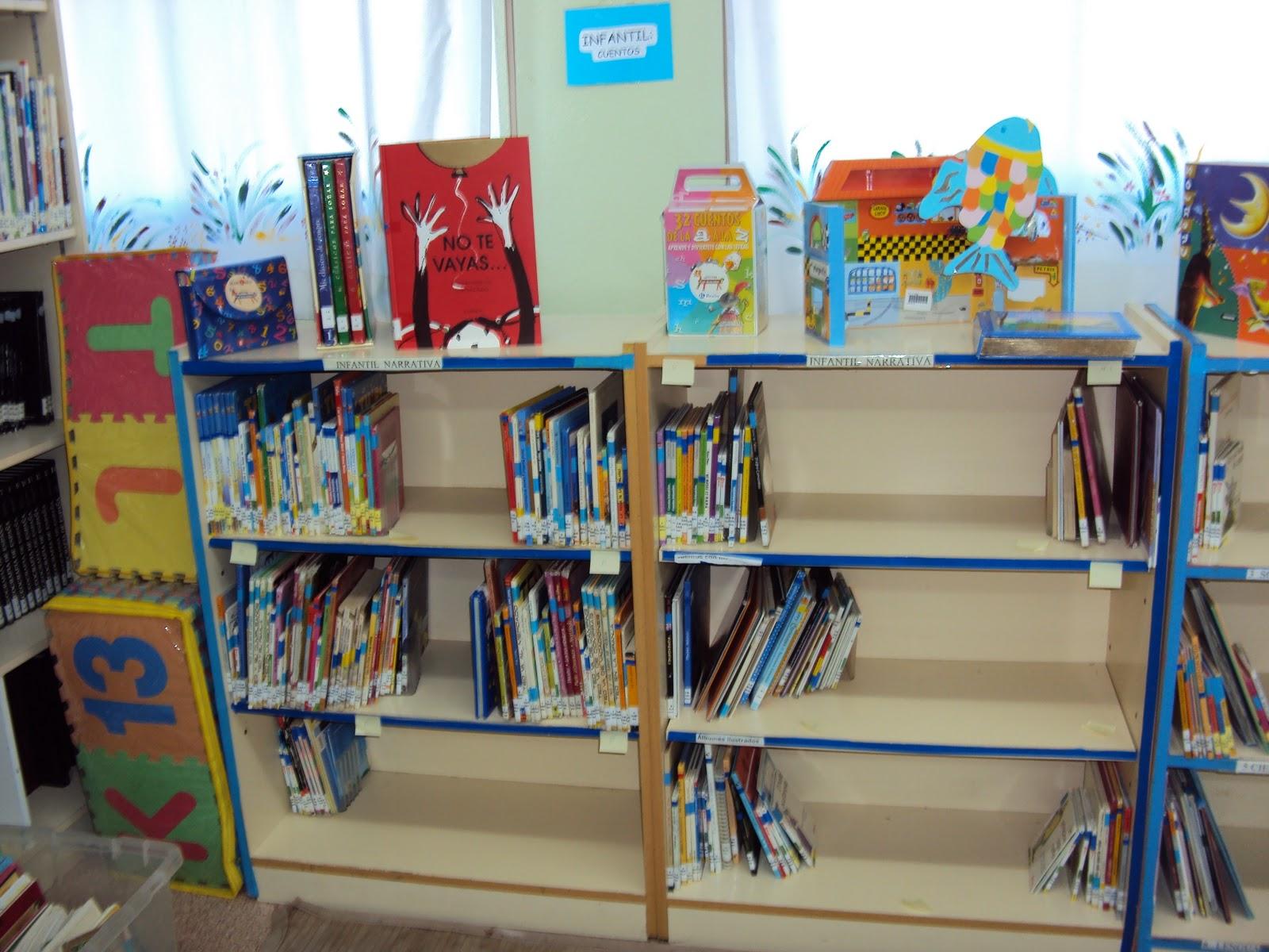 Bibliolibre biblioteca escolar el espacio para educaci n - Estanteria biblioteca infantil ...