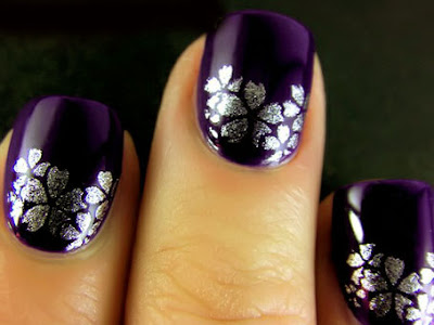 Latest Awesome Nail Design 2012