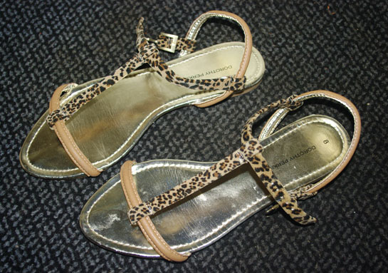 Tan and leopard bar sandals, leopard sandals, tan sandals, dorothy perkins