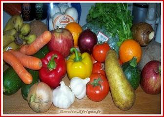 Recettes de Fruits et Légumes