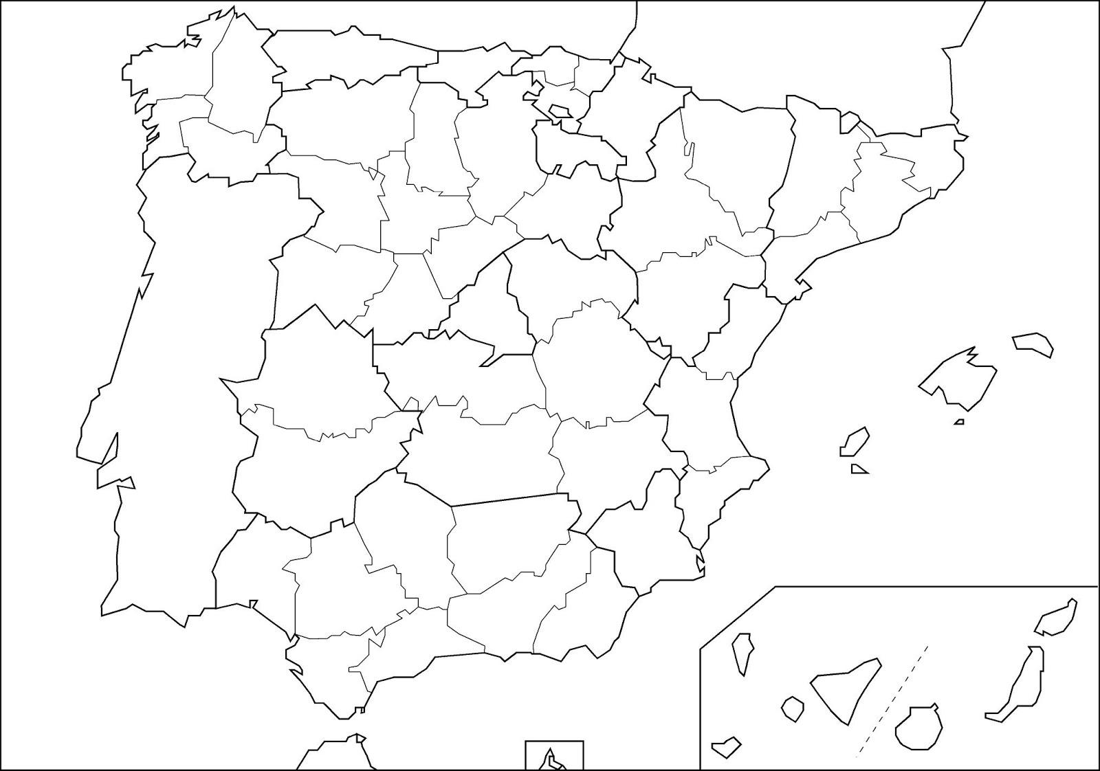 Mapa Politico Espaa Pdf  My blog
