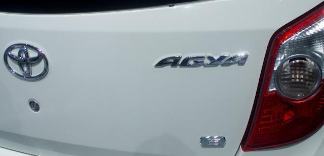 Toyota agya 2012