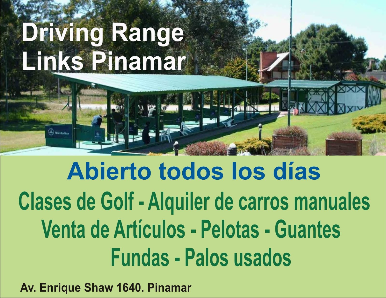 Driving Range Links Pinamar