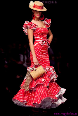 Inspiration Flamenca dress Cañavate