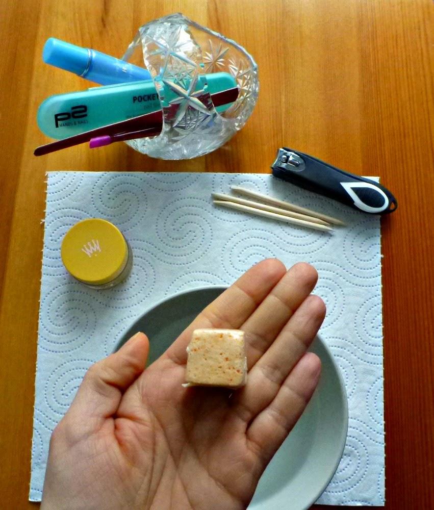 Cytrusowa pielęgnacja paznokci - kosteczka i balsam