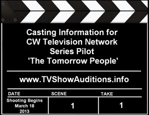 The Tomorrow People Auditions and Casting Calls