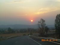 carretera de Zamora a Gadalajara