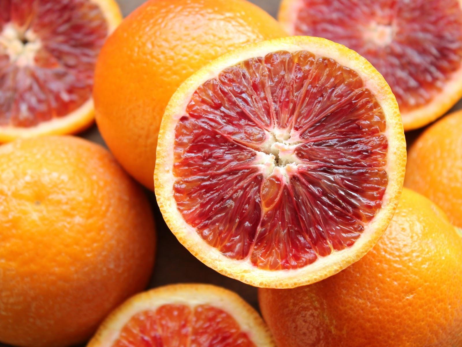 ... blood orange vinaigrette blood orange sherbet blood orange juliet