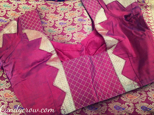 Kanchipuram Silk Saree Blouse Design