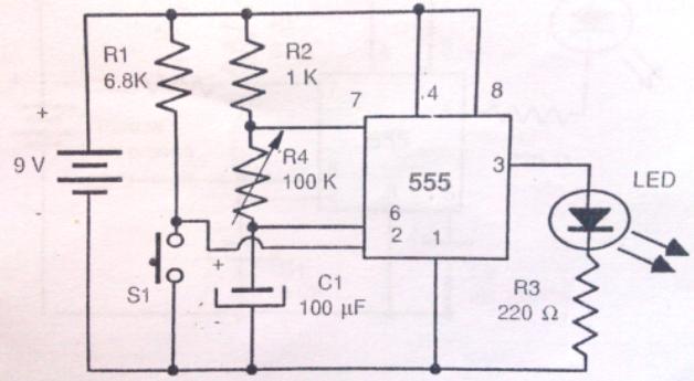 Circuito Temporizador : Como fabricar un temporizador variable mecatronica