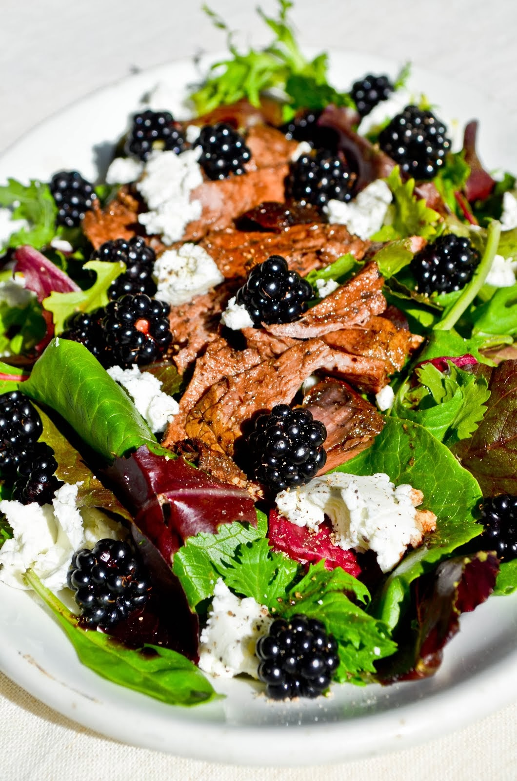 Blackberry Salad ...