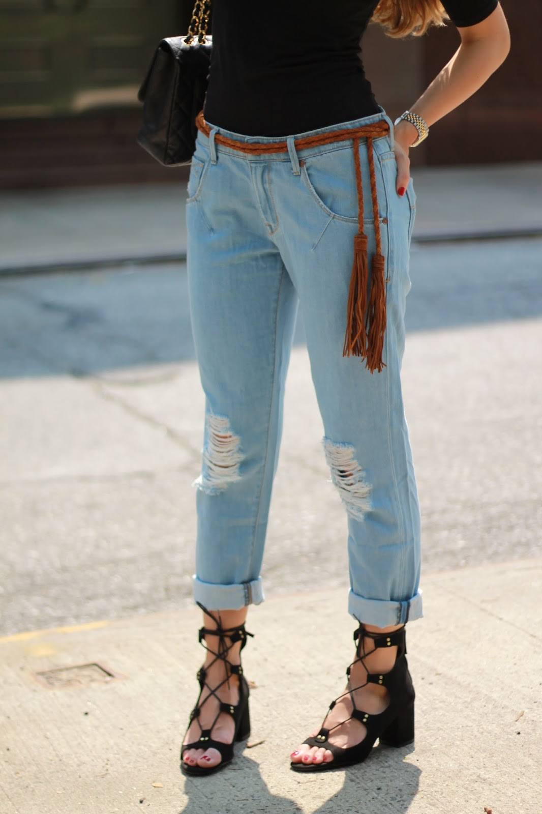 tassel belt, zara lace up heels