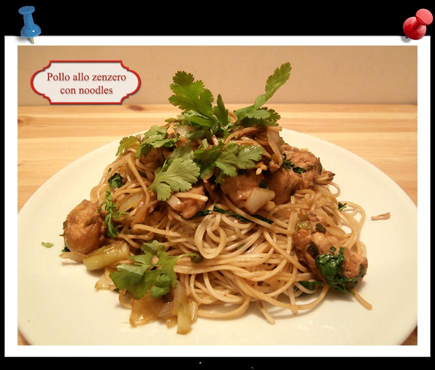 Jamie oliver pollo allo zenzero con noodles imparare l for Cucinare noodles