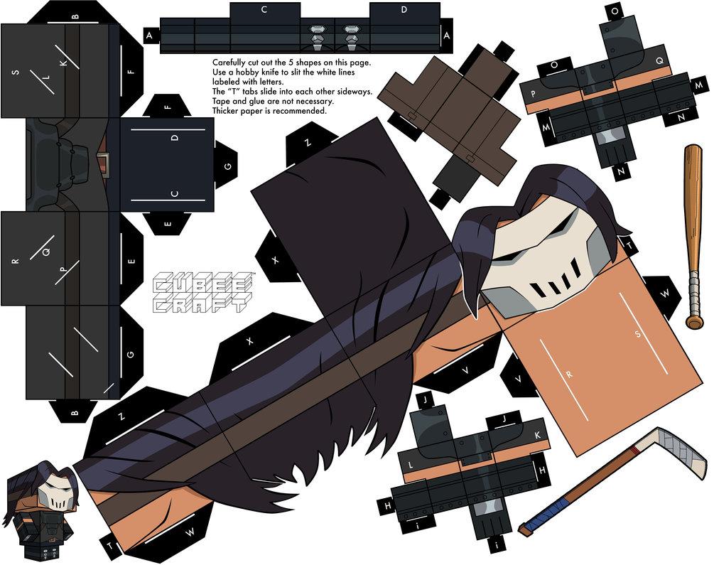 Oci Ilerget: Cubeecraft XV: Teenage Mutant Ninja Turtles