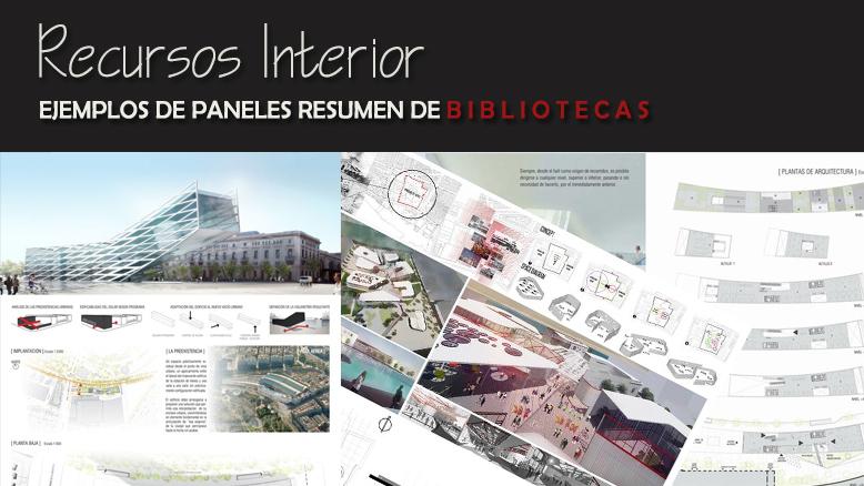 6 ejemplos de panel resumen  bibliotecas