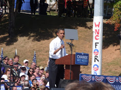 Obama for President Rally - Asheville, 2008