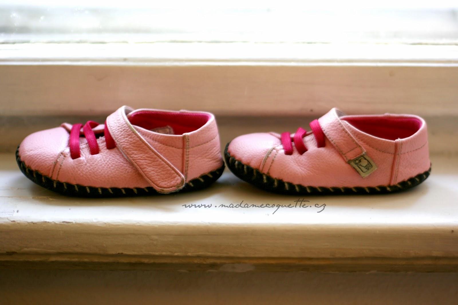 Madame Coquette  dětské boty   LBL Baby po měsíci nošení 36d9af005a