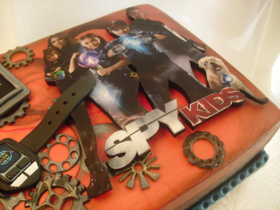 made FRESH daily: Spy Kids 4 Birthday Cake!