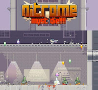 Nitrome Must Die walkthrough guide and review.
